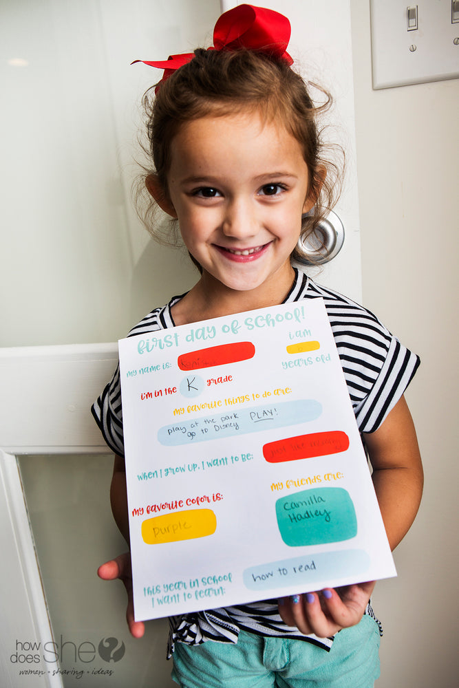 Back to School Printable Collection