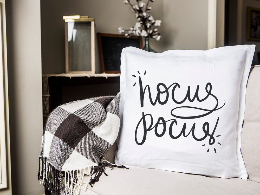 Hocus Pocus Pillow Cover