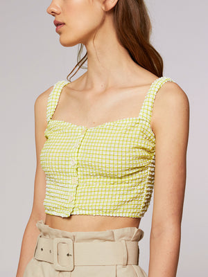 Rita Row - Palosa Bustier / Green Embossed