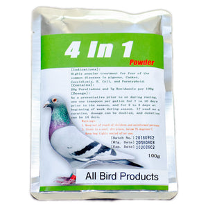 4 in 1 powder for birds