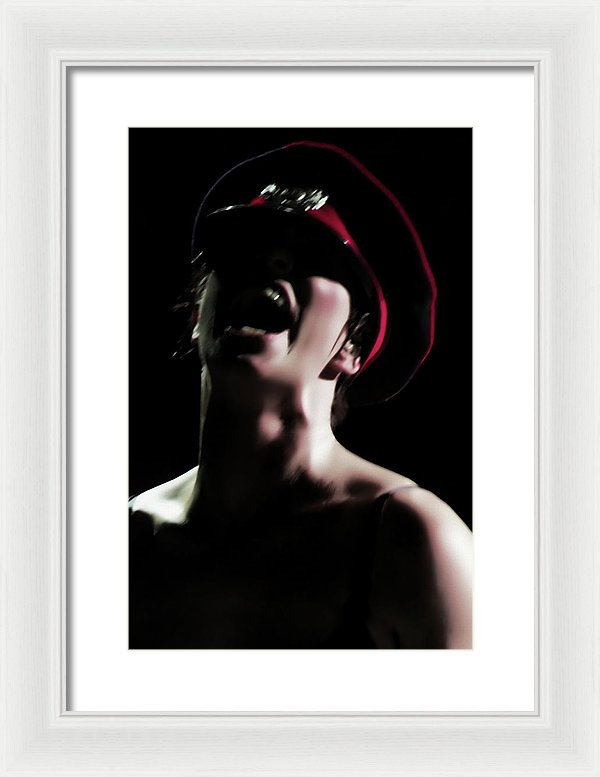 Not Bothered Live - Framed Surreal Fine Art Portrait Print | The Photographist™