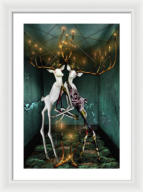 The Guff In Trepidation - Framed Surreal Fine Art Print | The Photographist™