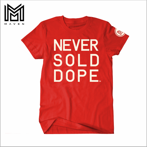Never Sold Dope Red Men's T-Shirt