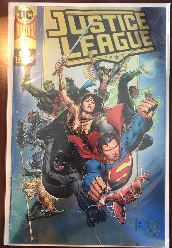 Justice League V4 #1 - Jim Cheung Gold Foil Convention Variant - Polybag
