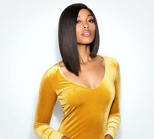 King Keri - Straight Side Part Asymmetrical Bob Wig
