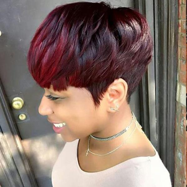 150% Density | Beautiful Short Pixie Wig - BEST005