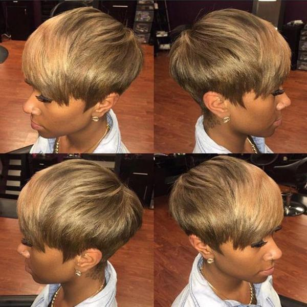 150% Density | Beautiful Short Pixie Wig - BEST006