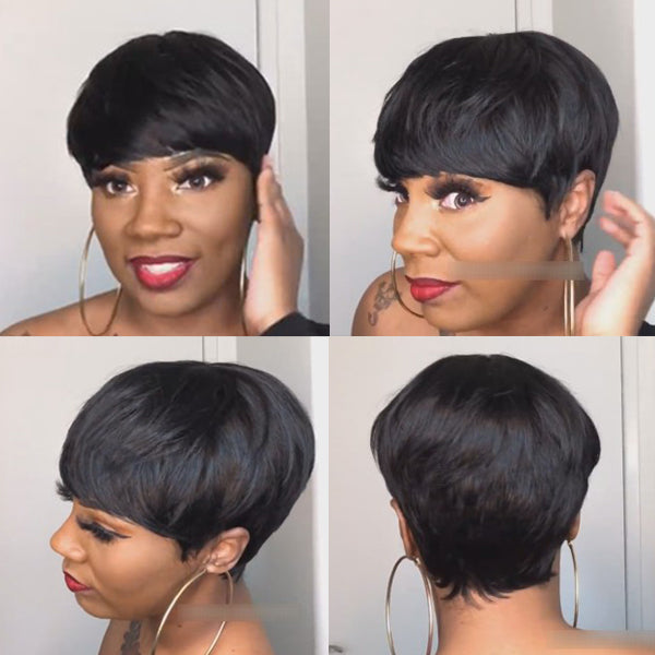 FLASH SALE | Beautiful Short Pixie Cut Wig - HOT009
