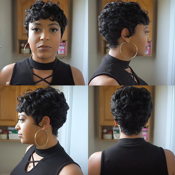 FLASH SALE | Beautiful Short Pixie Cut Wig - HOT004