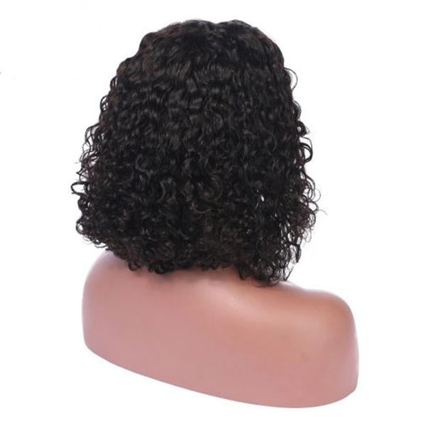 Black Bob Curly | Japanese Fiber Lace Front Wig (Base Cap)
