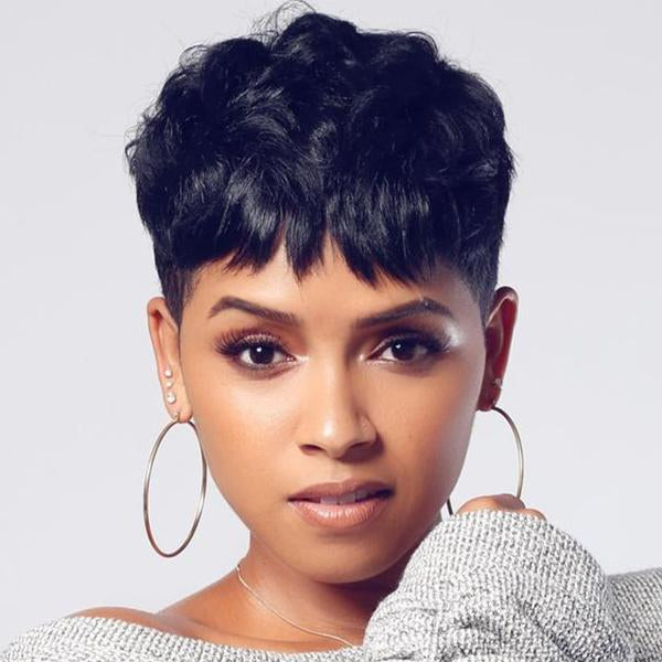 150% Density | Beautiful Short Pixie Wig - BEST002