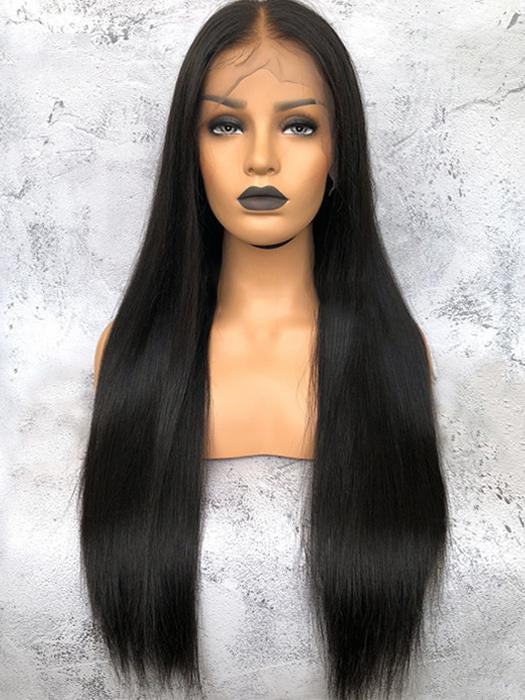 Long Straight | Human Hair Lace Front Wig