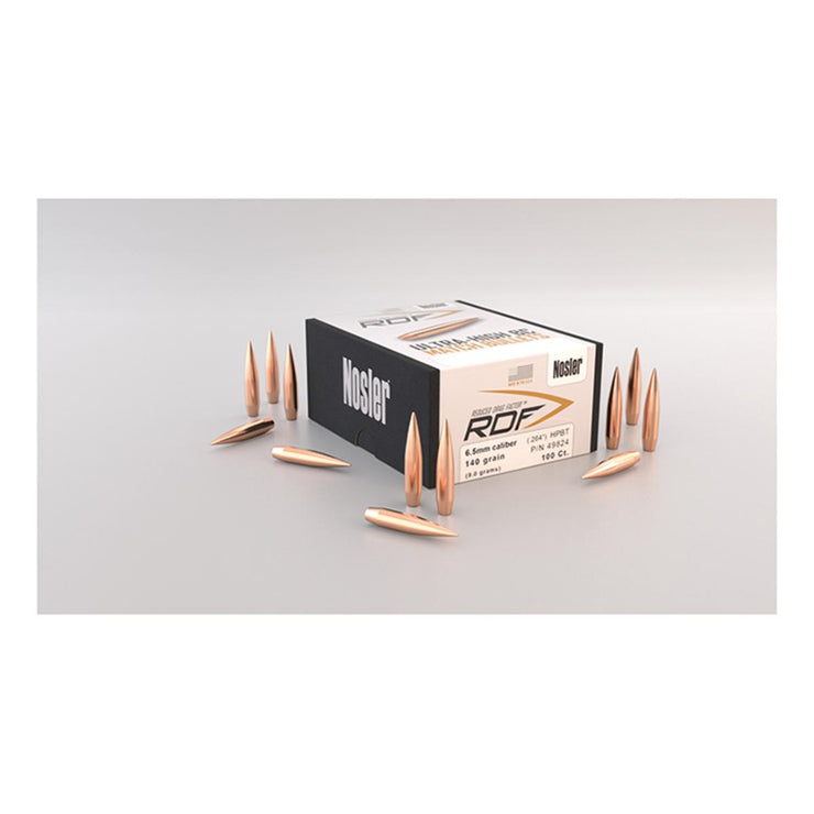 Nosler RDF (Reduced Drag Factor) 100 Pack RDF .30 cal 210gr HPBT (100 ct) Box 100