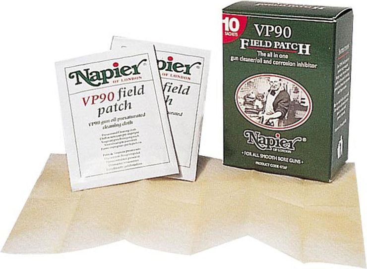 Napier Field Patch Box of 10 Patches VP90