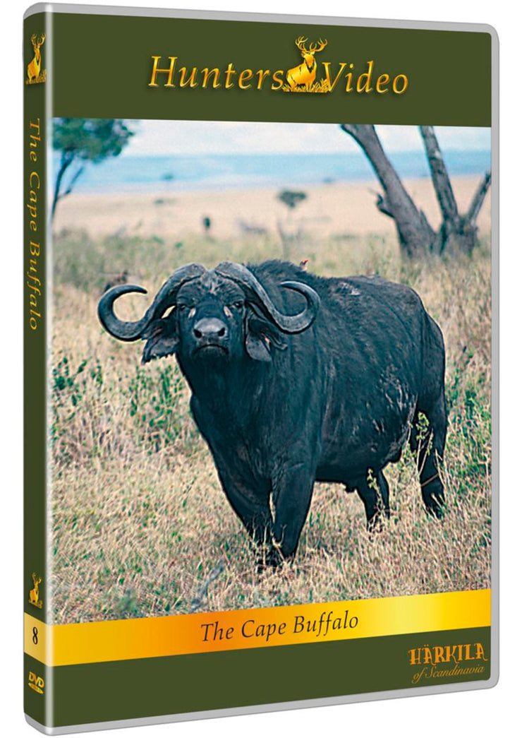 "Hunters Video DVD ""The Cape Buffalo"" DVD multi language"