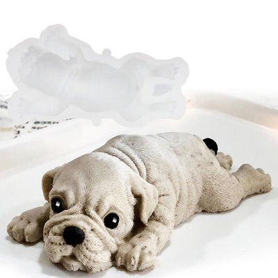 3D Puppy Cake Mould Ice Cream Mould