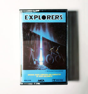 Jerry Goldsmith ‎- Explorers (Music From The Motion Picture Soundtrack)