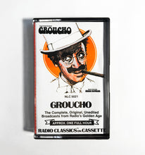 Load image into Gallery viewer, Radio Classics on Cassette - Groucho Marx