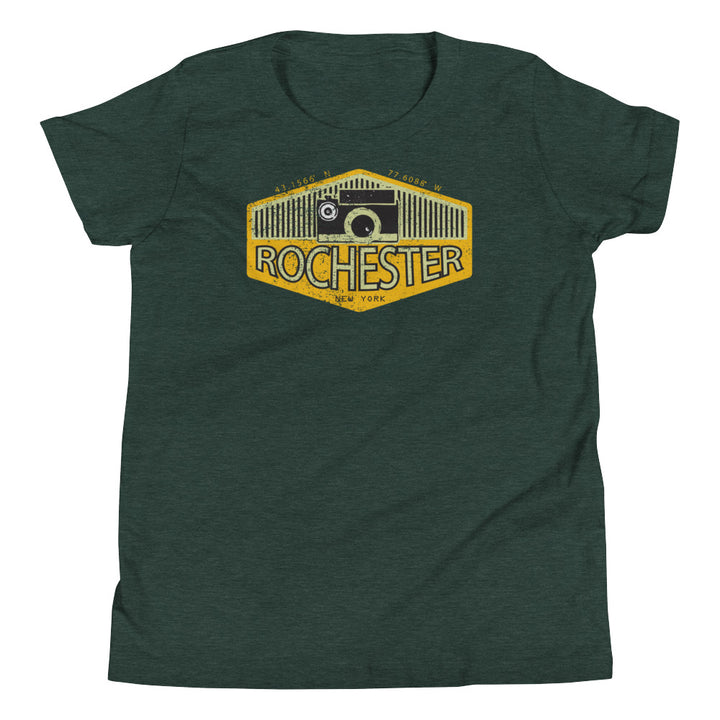 Rochester, New York Youth Short Sleeve T-Shirt