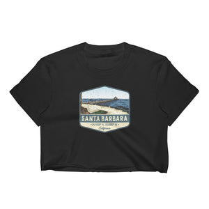 Santa Barbara, California Women's Crop Top