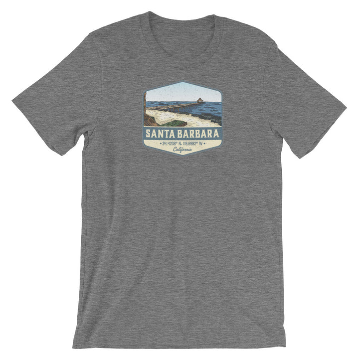 Santa Barbara, California Short-Sleeve Unisex T-Shirt