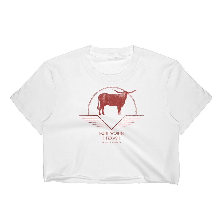 Fort Worth, Texas Women's Crop Top