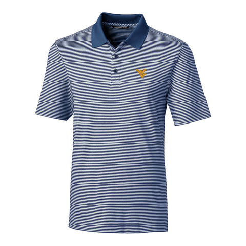 CUTTER AND BUCK FORGE TONAL STRIPE POLO