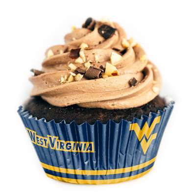WEST VIRGINIA FAN-CAKES LINERS - 36 COUNT