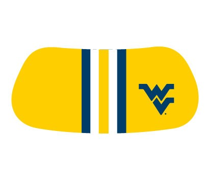 EYE BLACK TEAM COLOR WV 2-PAIRS