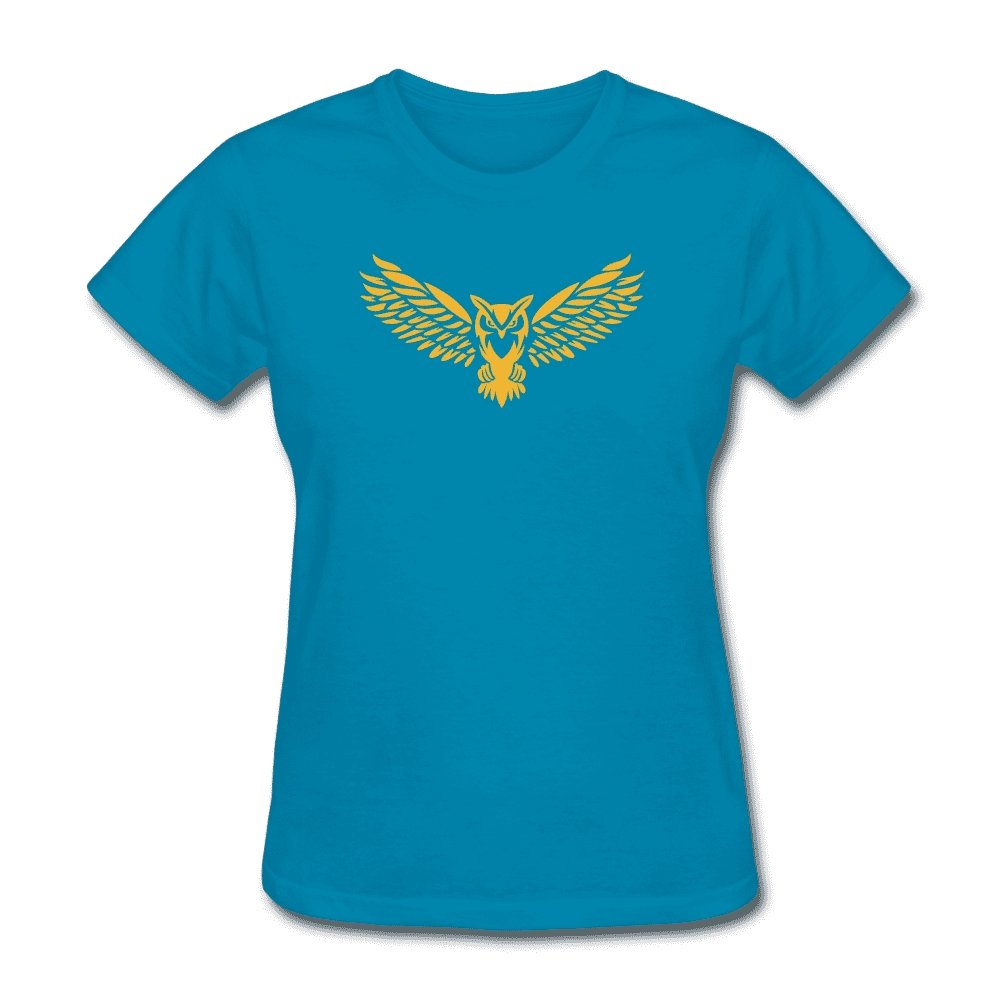 NEBU Owl - Women's T-Shirt - Neter Gold