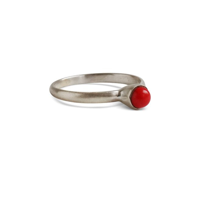 Simple Ring Silber