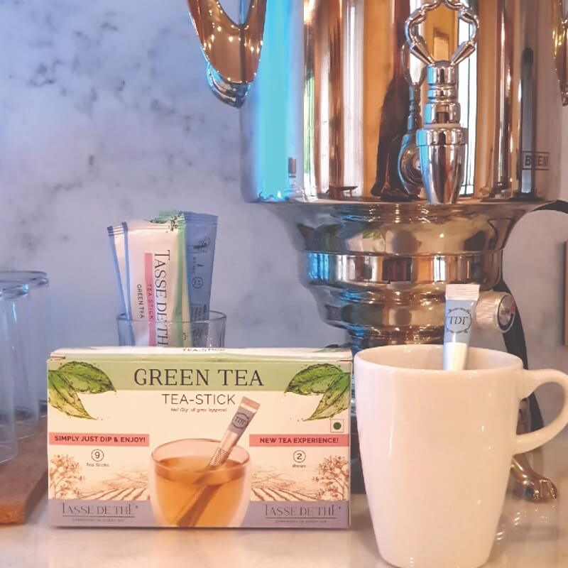 VANILLA SOY MILK GREEN TEA