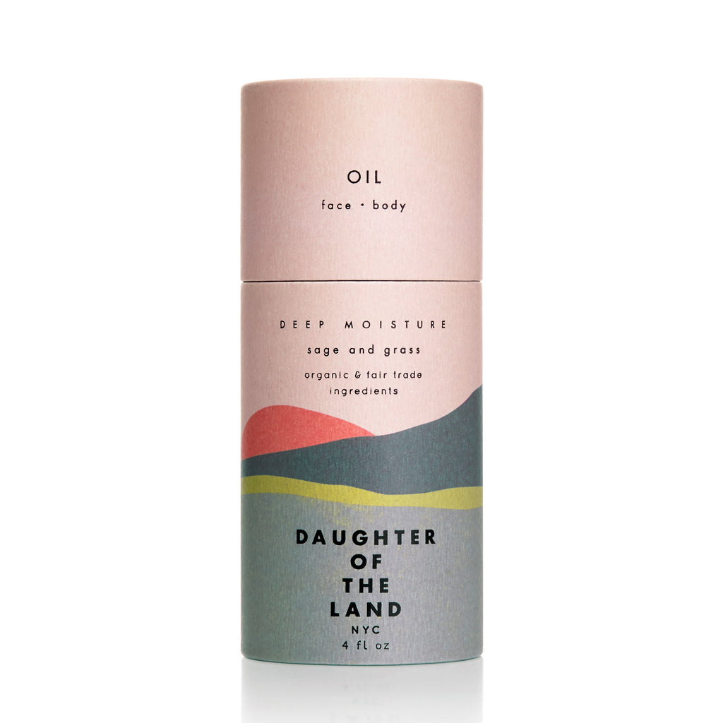Deep Moisture Body + Face Oil