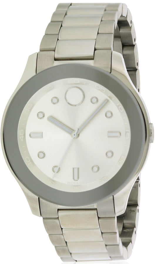 Movado Bold Stainless Steel Ladies Watch