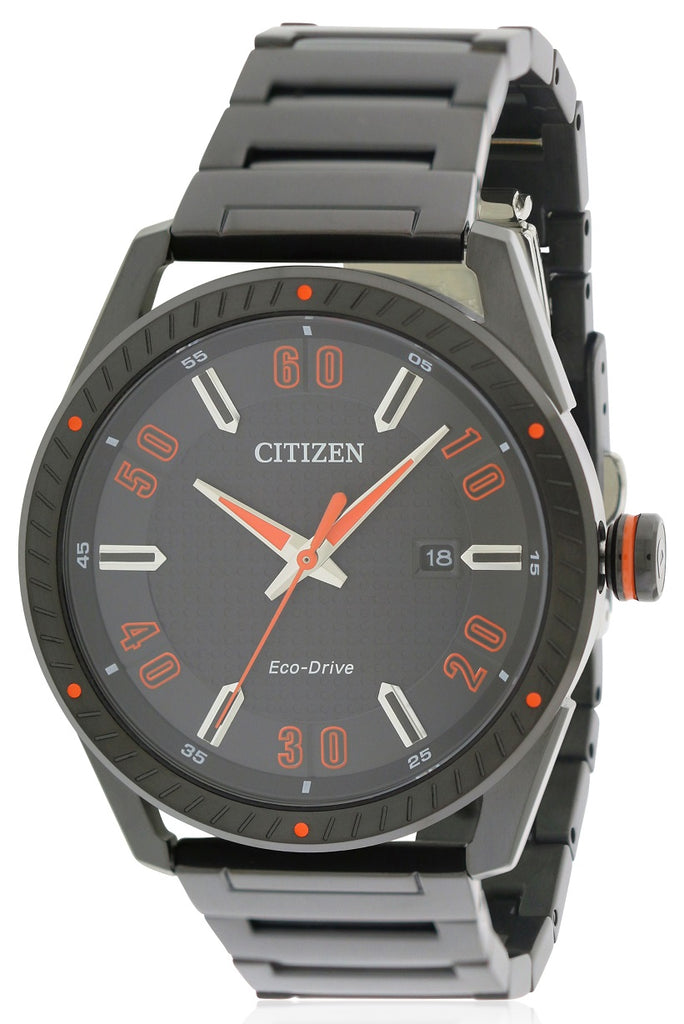 Citizen Drive Black Stainless Steel Mens Watch