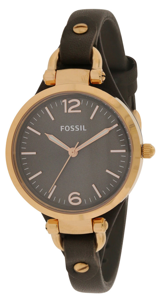 Fossil Georgia Leather Ladies Watch