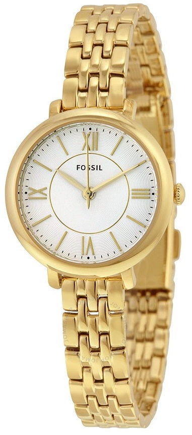 Fossil (Open Box) Jacqueline Gold-Tone Ladies Watch ES3798