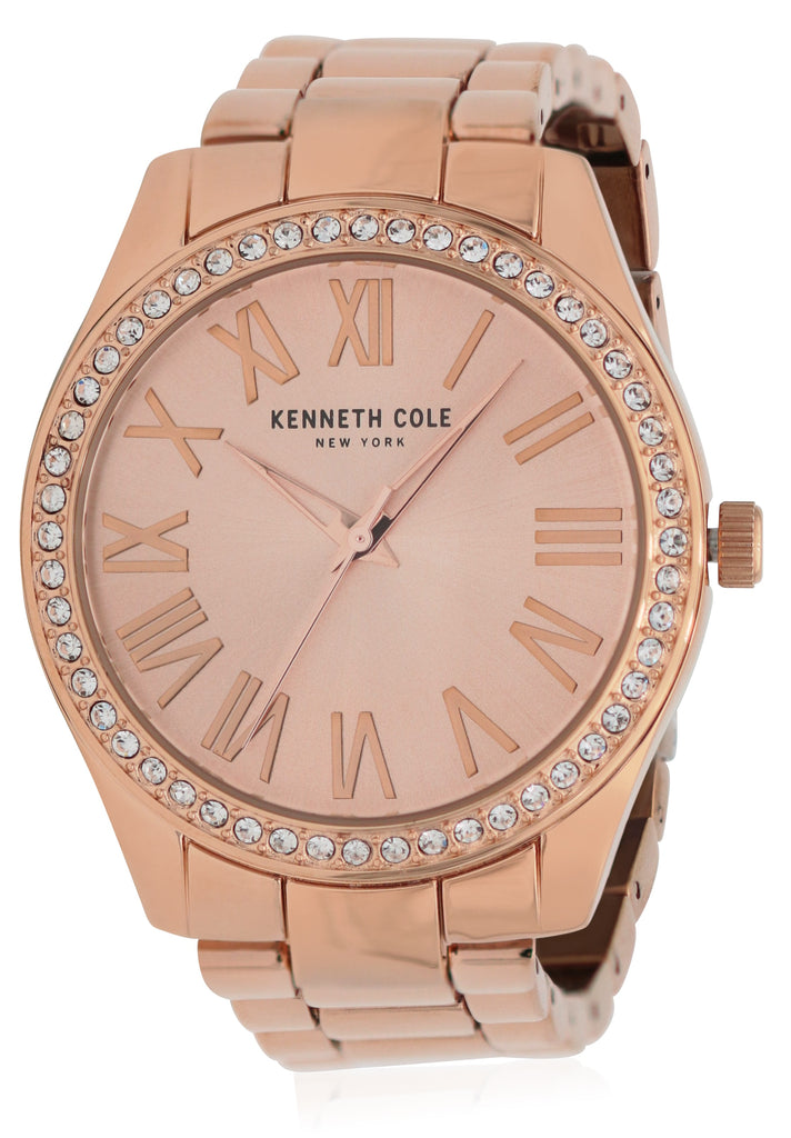 Kenneth Cole Rose Gold-Tone Ladies Watch