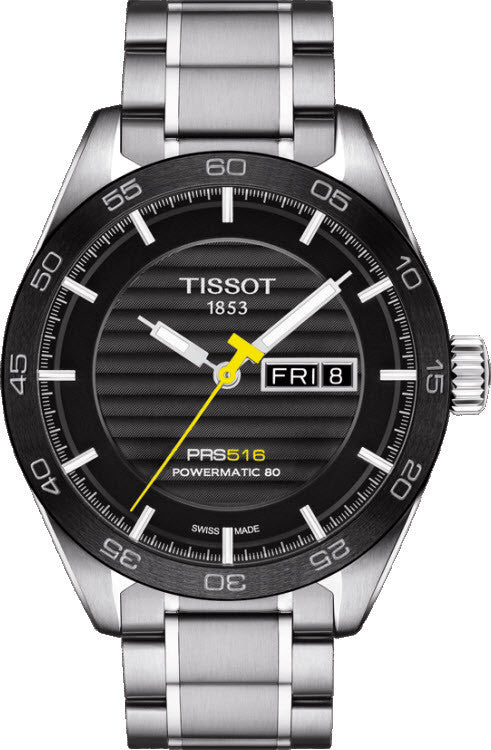 Tissot PRS516 Automatic Stainless Steel Mens Watch