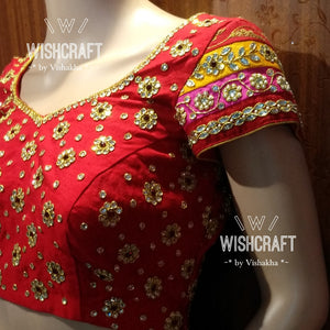 Blouse Design 111 - Bridal blouse designs - theblousestore