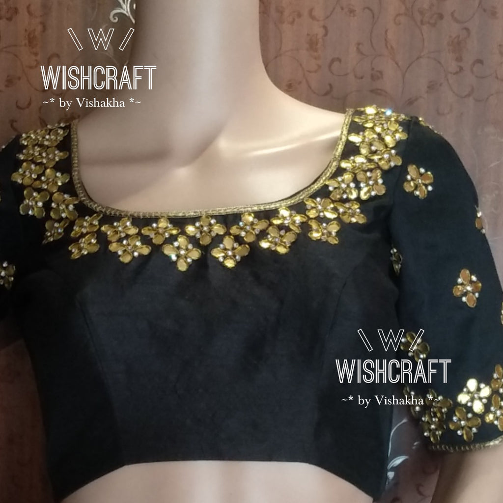 Blouse Design 102 - Beautiful gota patti work blouse