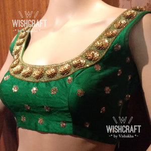 Blouse Design 137 - Gorgeous party wear saree blouse