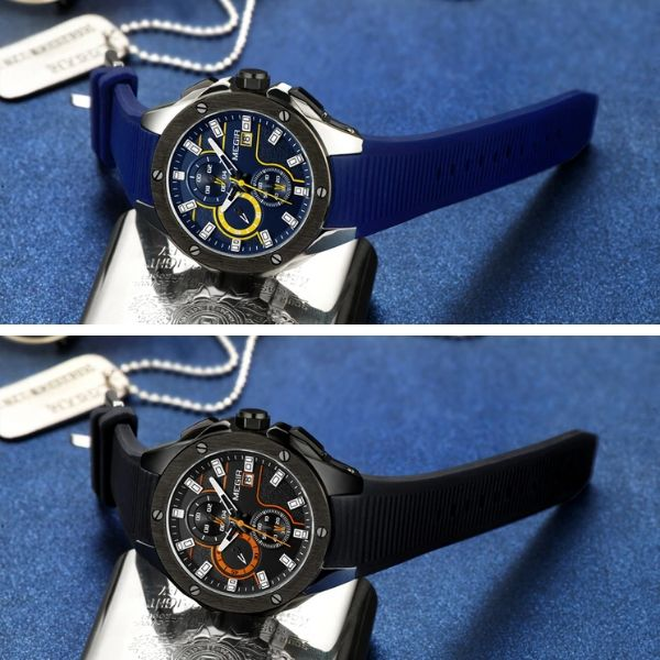 Capture Men's Military Fashion Waterproof Sport Watch