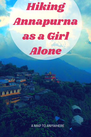 annapurna as a girl alone
