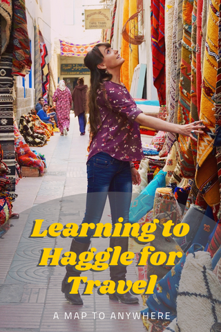 learning to haggle for traveling