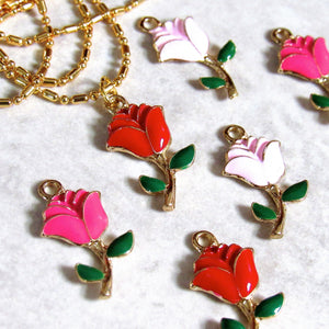 Red Rose Chokers