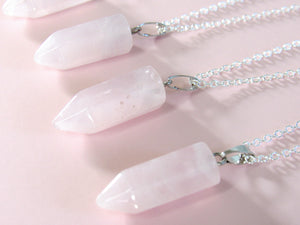 Rosy Rose Quartz Chokers