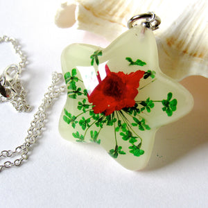 (On Sale!) Glow Real Flower Necklaces