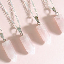 Load image into Gallery viewer, Rosy Rose Quartz Chokers