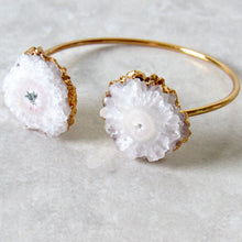 Load image into Gallery viewer, Golden Solar Quartz Bangles